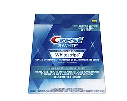 Crest 3D отбеливающие полоски для зубов White Whitestrips 1 Hour Express 14шт