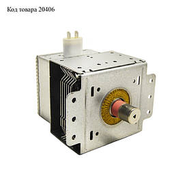 Магнетрон для микроволновой печи Lg 2M214-01TAG (Крепежи перпендикулярно контактам)
