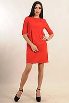 Однотонное лаконичное платье (Горчица ri), фото 3