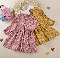 Стильне плаття - сарафан для дівчаток/ сезон весна-осень платья принцессы с длинными рукавами для девочек