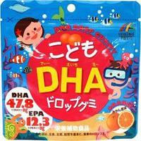 Комплекс Омега 3 полинасыщенных жирных кислот для детей со вкусом мандарина. 90 шт. Япония