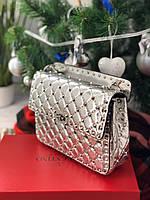 Женская сумочка Valentino Garavani Rockstud премиум (реплика)