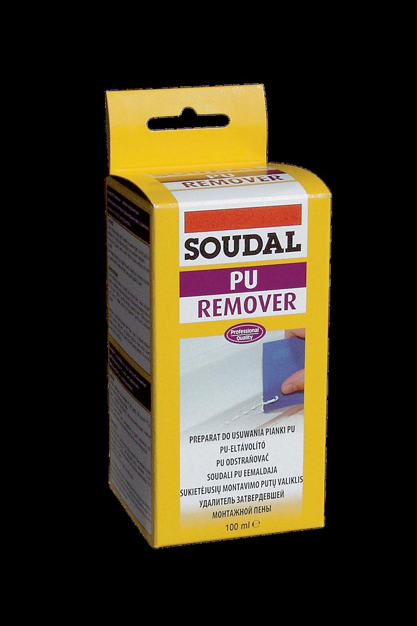 Очищувач затверділої монтажної піни Saudal PU remover