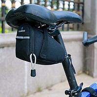 Сумка для велосипеда Yanho DW2 велосумка велобардачок велобагажник под седло на велосипед Черная