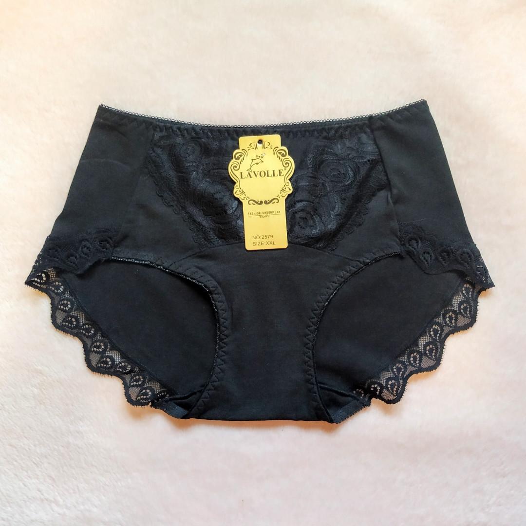 Трусики Lavolle черные размер 48-50