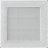Вентиляционная решетка Kratki VENUS 17х17 белая кристалы Сваровски