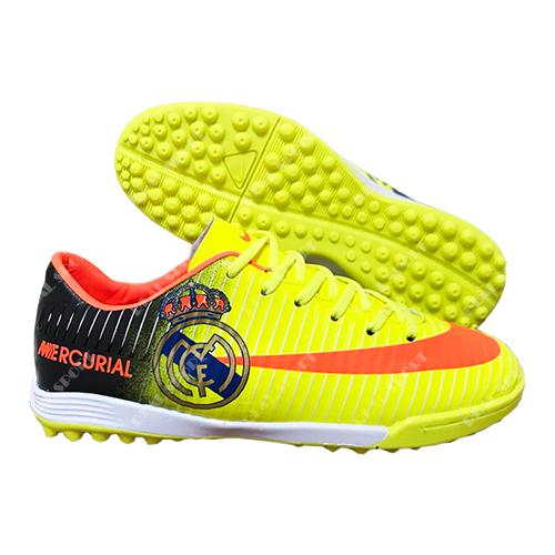 Футбольные бампы (сороконожки) Nike Mercurial CR7 Real B79-1 Yellow, р. 36-41