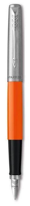 Перьевая ручка Parker Jotter 17 Plastic Orange Ct Fp F