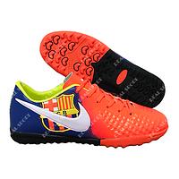 Футбольные бампы (сороконожки) Nike Magistax Barcelona B917-4 Orang, р. 36-41