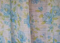Тюль микровуаль цветы, фото 1