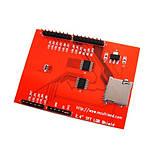LCD TFT дисплей 2.4 320x240, тачскрін, microSD, Arduino, фото 2