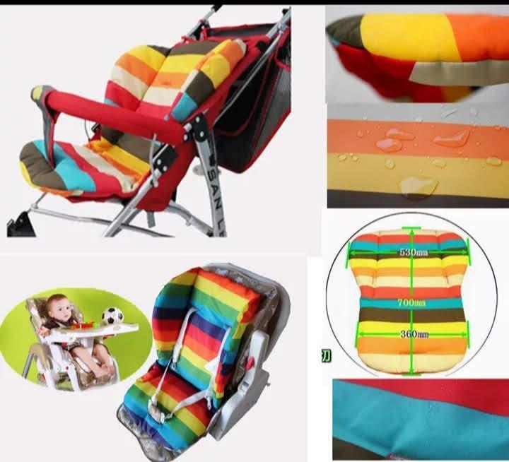 Непромокаемый вкладыш матрасик в коляску или стульчик для кормления, матрас, матрац, матрасик для прогулок