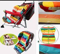 Непромокаемый вкладыш матрасик в коляску или стульчик для кормления, матрас, матрац, матрасик для прогулок, фото 1