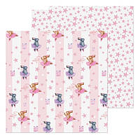 Бумага для скрапбукинга «Зайчонок», 20 × 20 см, 180 г/м