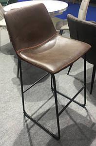 Стул барный В-14-2 блестящий коричневый