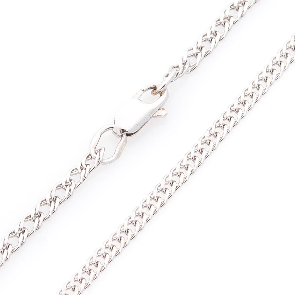 Серебряная цепочка Плетение: двойной ромб 3мм