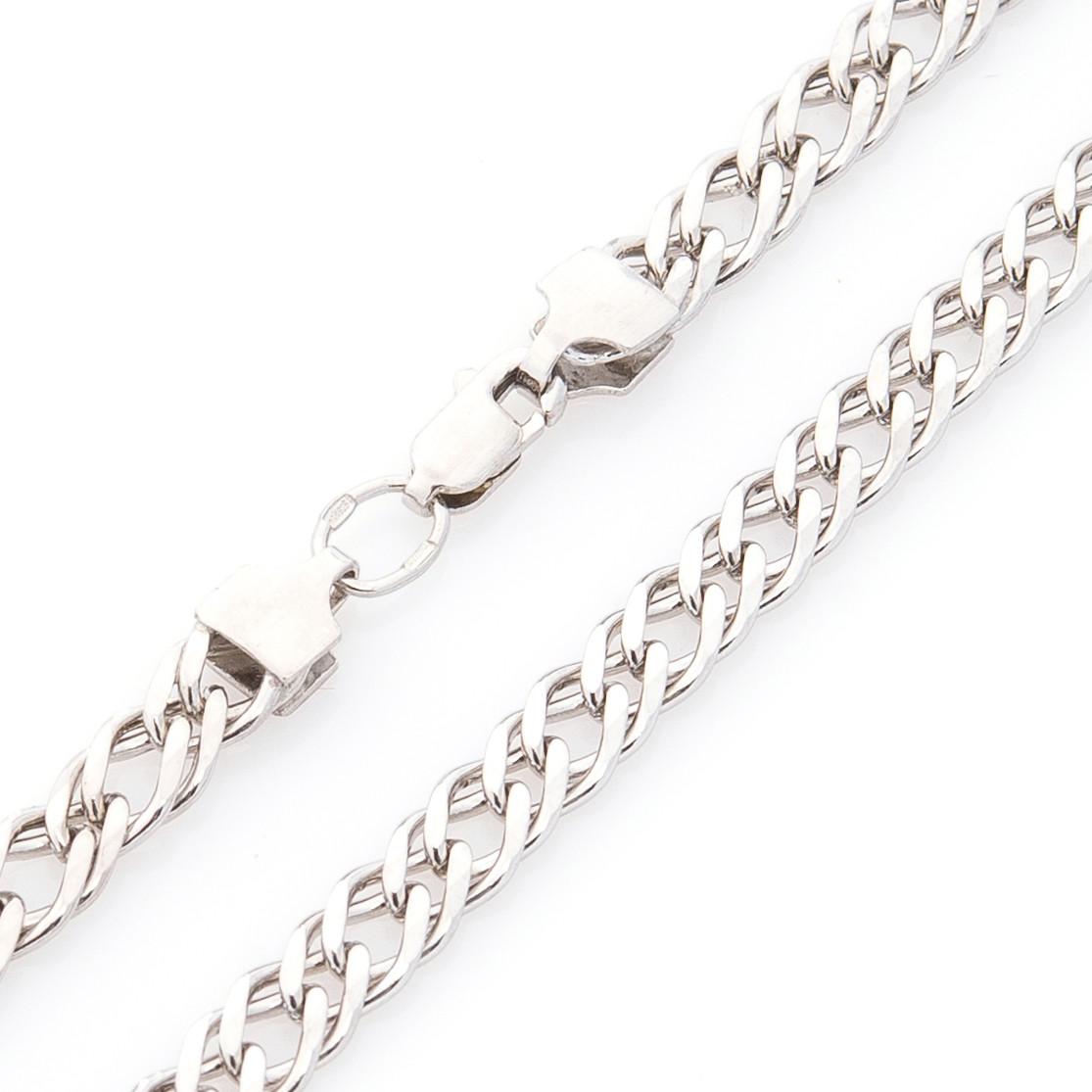 Серебряная цепочка Плетение: двойной ромб 7 мм