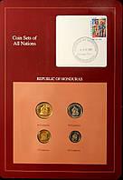 Набор монет Гондураса 5-50 сентаво 1978-1989 гг (4 шт)