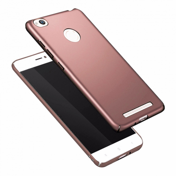 Чехол INCORE Four Edges для Xiaomi Note 5A Prime Rose Gold (PC-002085)