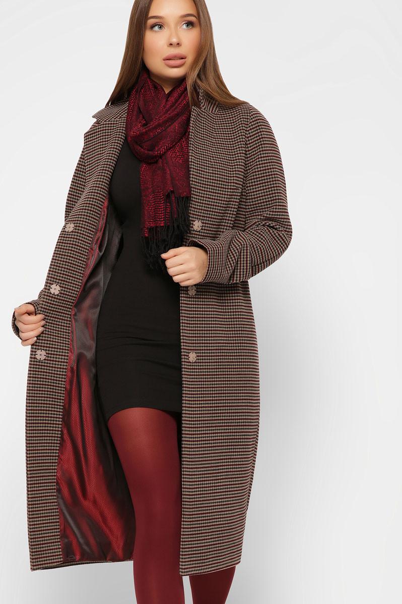 Модное шерстяное пальто с 42 по 48 размер