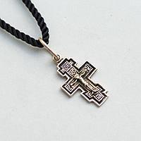 Православный крест (чернение)