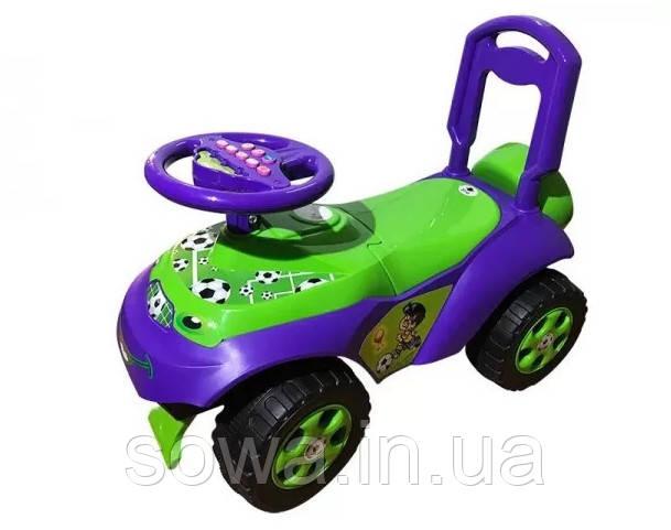 Машинка Каталка-толокар DOLONI TOYS 0141/02 ( Розовая, зеленая )