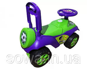 Машинка Каталка-толокар DOLONI TOYS 0141/02 ( Розовая, зеленая ), фото 2