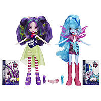 My Little Pony Equestria Girls Aria Blaze and Sonata Dusk ,сет Девочки Эквестрии Соната Даск и Ария Блэйз