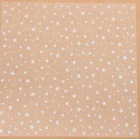 Ацетатный лист для скрапбукинга «Звёздочки», 30,5 × 30,5 см, 25 мкм