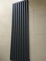 Дизайн радиатор Модель «Rimini 8/1500» Цвет антрацит матовый.