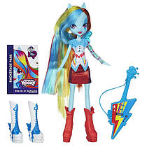 My Little Pony Equestria Girls Rainbow Dash Doll with Guitar, Кукла Девочки Эквестрии Рэйнбоу Дэш с гитарой