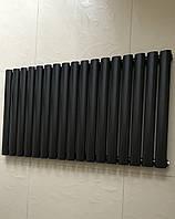 Дизайн радиатор Модель «Rimini 17/550» Цвет чёрный матовый.