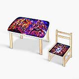 Детский комплект стол и стул, фото 2