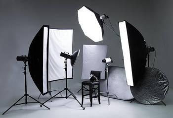 КОМПЛЕКТЫ студийного света для фото видеосъемки