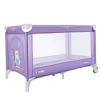 Манеж-кровать CARRELLO Piccolo CRL-9203/1 Orchid Purple