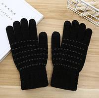Перчатки для сенсорных экранов Furrow black