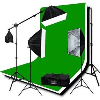 Комплекты постоянного света для фото и видеосъемки