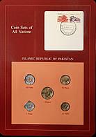 Набор монет Пакистана (5-50 пайса, 1 рупия) 1984 г. (5 шт)