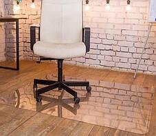 Защитный коврик под кресло 300см х 200см (2мм), коврик напольный прозрачный из поликарбоната, фото 3