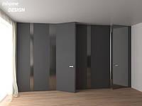 Двери скрытого монтажа  с покрытием Soft touch