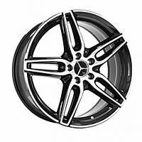 Литые диски Replica Mercedes (MR030) R19 W9 PCD5x112 ET49 DIA66.6 (BKF)