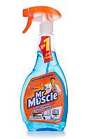 Средство для мытья стекол с нашатырным спиртом (После дождя) Mr Muscle - 500мл