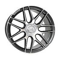 Литые диски Replica Mercedes (MR762/1) R22 W10 PCD5x130 ET50 DIA84.1 (GMF)