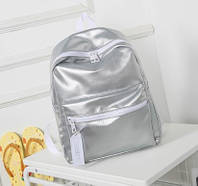 Городской рюкзак женский LeftFiell silver