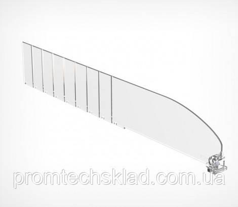 Пластиковый разделитель высотой 60 мм, длиной 485 мм DIV60-В