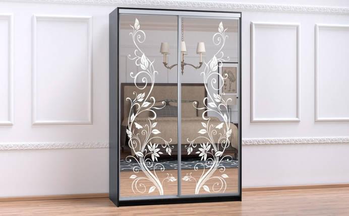 Шкаф Купе-01 1000х600х2400 Алекса мебель, фото 2