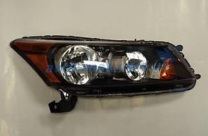 Фара передняя для Honda Accord 8 '08- USA правая (DEPO)