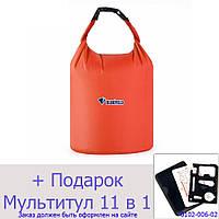 Водонепроницаемый мешок для рафтинга, кемпинга и туризма Bluefield 70L Оранжевый