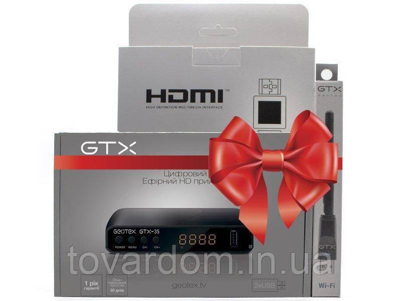 Цыфровой тюнер Geotex GTX-35+GTX HDMI 1.5+WiFi