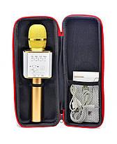 Микрофон Bluetooth Караоке -микрофон Q9(в чехле), фото 2
